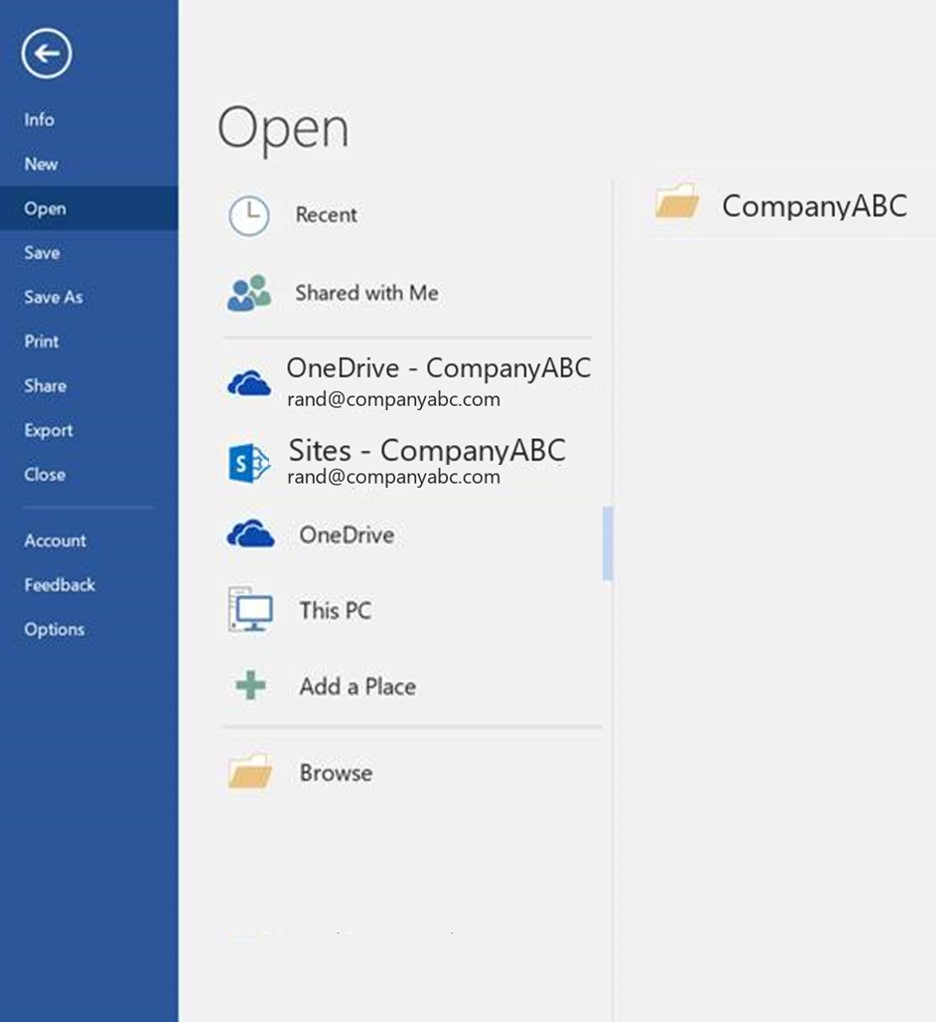 4 after you click the sites your company sharepoint online site paste in the url for the sharepoint library you want up to the shared documents