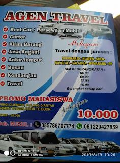 Travel Semarang Klaten