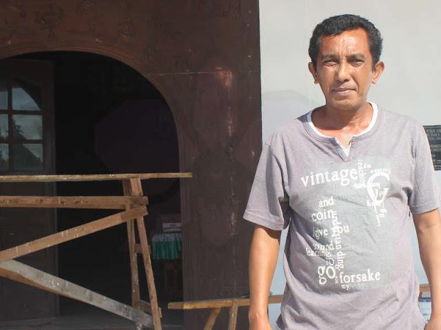 Ketua Majelis Jemaat Betel GPM Latdalam, Kecamatan Tanimbar Selatan (Tansel), Pendeta Manuel C. Radjawane, S.Si,
