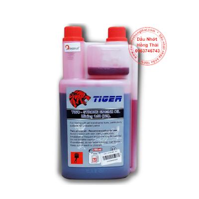 Nhớt 2T Tiger màu đỏ