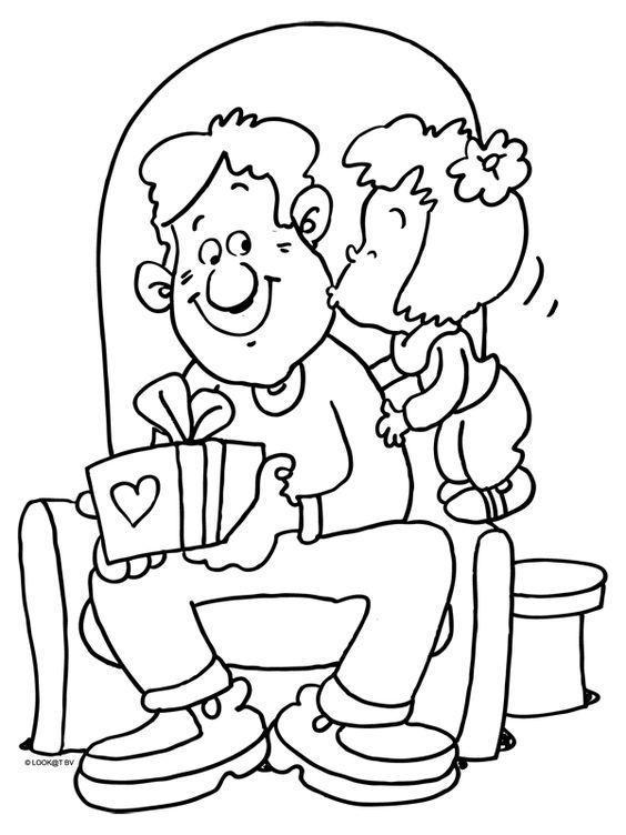 8 15 Atividades Dia dos pais para colorir
