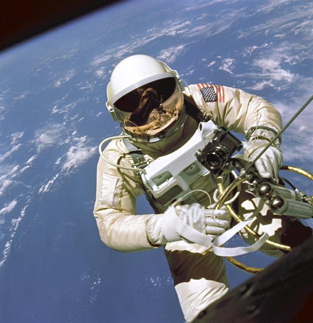Ed White - Primer paseo espacial - Misión GEMINI (ACTION MAN ASTRONAUT  HASBRO-PALITOY)