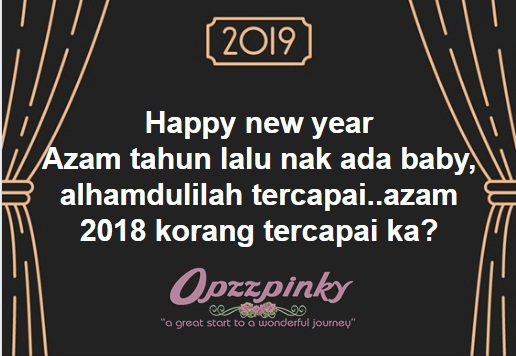 Selamat Tahun Baru 2019 - Azam 2018 Tercapai