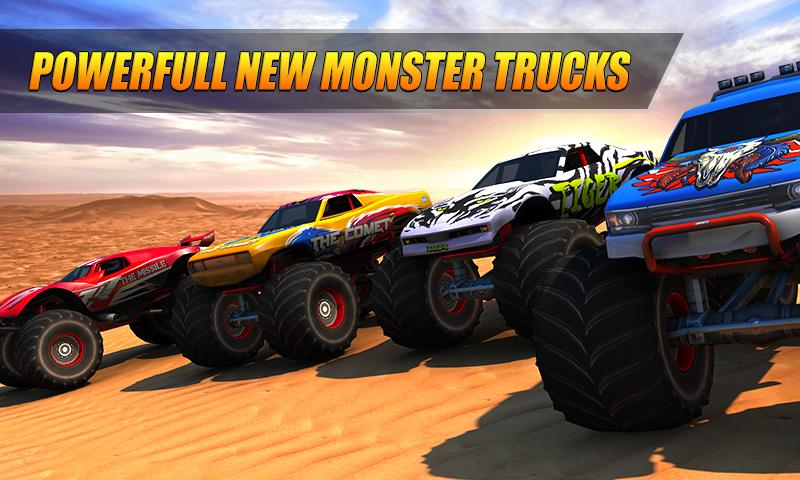 Monster Truck Racing MOD APK