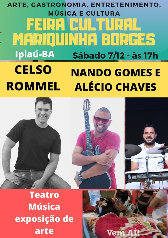 Cultura e diversidade na 2° Feira Cultural  Mariquinha Borges