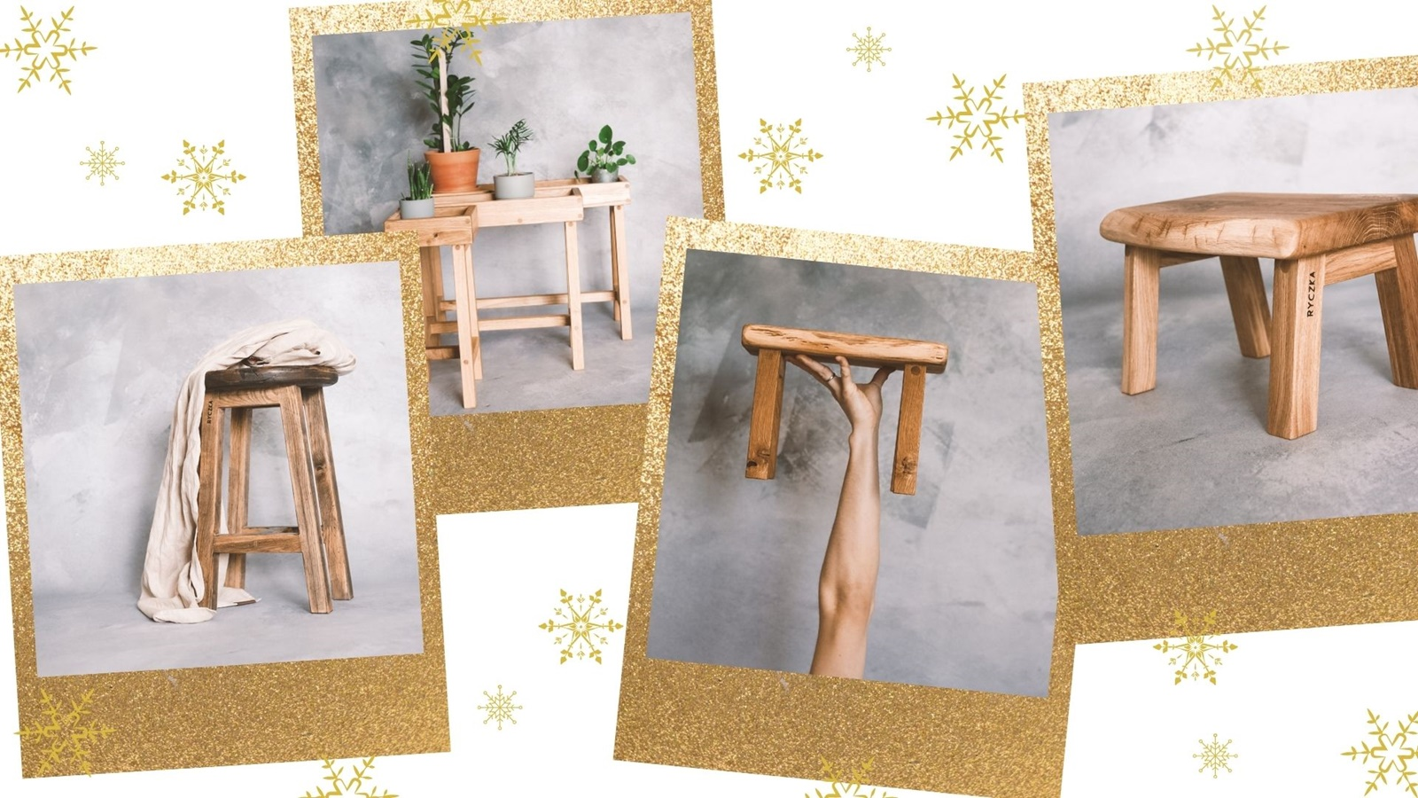 1 drewniane stołki prezent dla dzieci dorosłych eko w stylu boho drewniane dodatki do mieszkania stojaki pod kwiaty boze narodzenie prezenty pomysly co kupic rodzicom