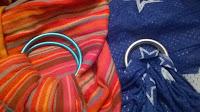 sling bulline néobulle sukkiri lucky taille tissu portage babywearing ringsling