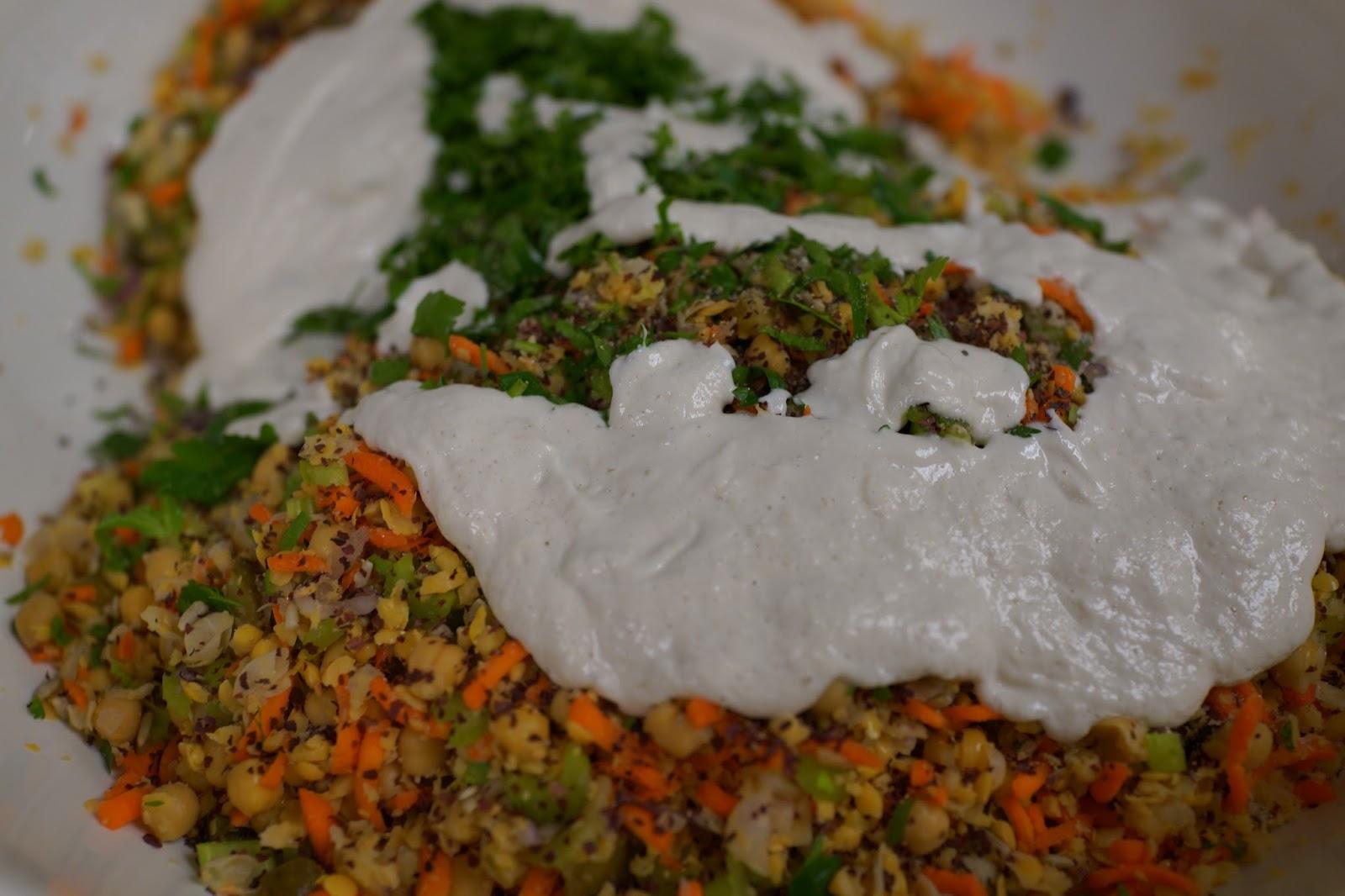 Chickpea mock tuna Salad