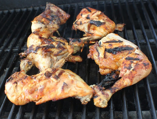 tequila grilled chicken Southwestern style