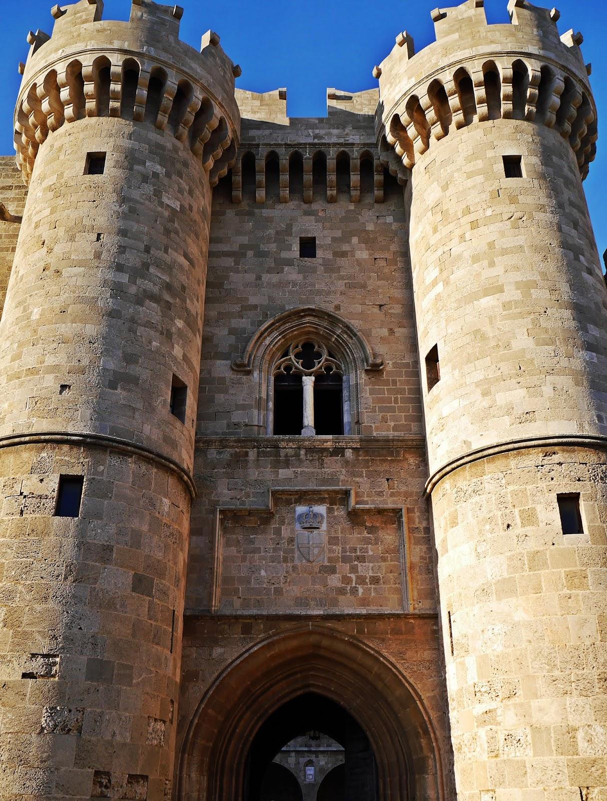 zamek królewski rodos rhodes grecja  karyn blog modowy blogerka modowa podróż poślubna