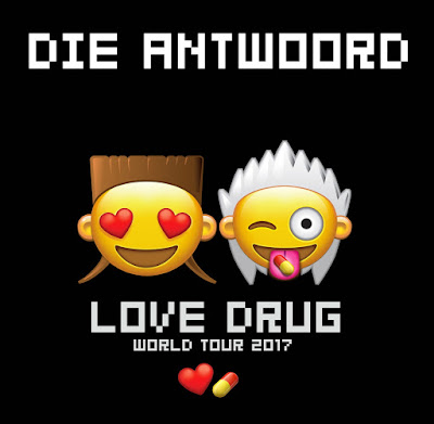 Music Television presents Die Antwoord and their music video to their song titled Love Drug