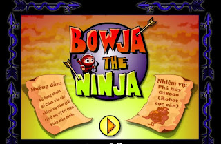 Game tri tue hap han ninja muu tri