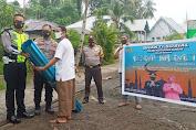 Polres Kepulauan Sangihe Bantu Pembangunan Mushola di Kampung Petta
