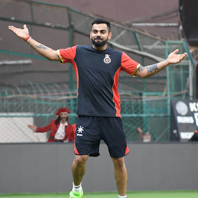 Virat Kohli HD Images Of Royal Challengers Bangalore Team