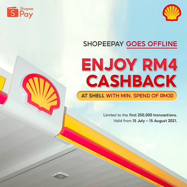 Fuel Up With ShopeePay At Shell Petrol Stations Nationwide
