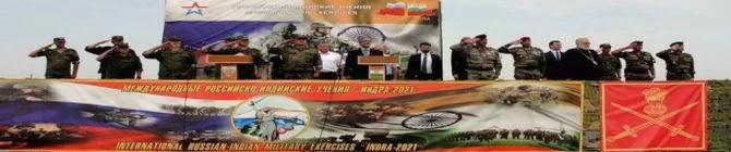 India, Russia Joint Military Drill Kicks Off In Volgograd