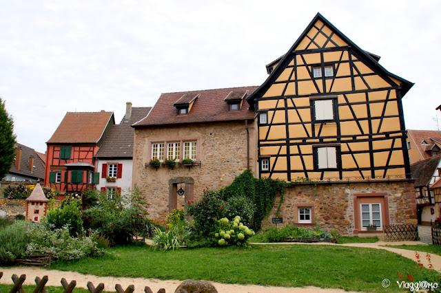Scorcio tipico del villaggio di Turckheim