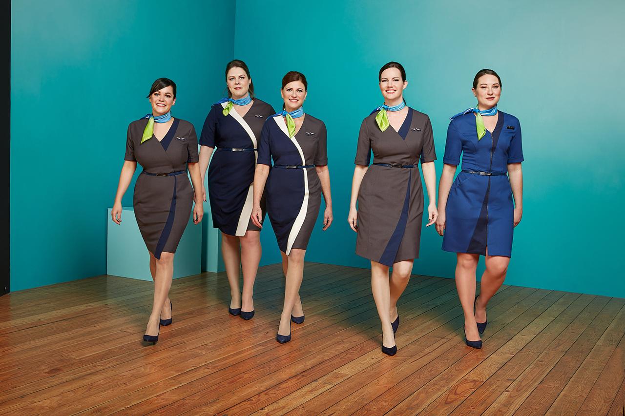 Alasaka Airlines pramugari seksi dan manis