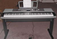 Yamaha 88-note keyboard