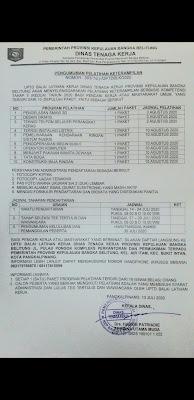 Info pelatihan BLKI Pangkalpinang-infobelitung.online