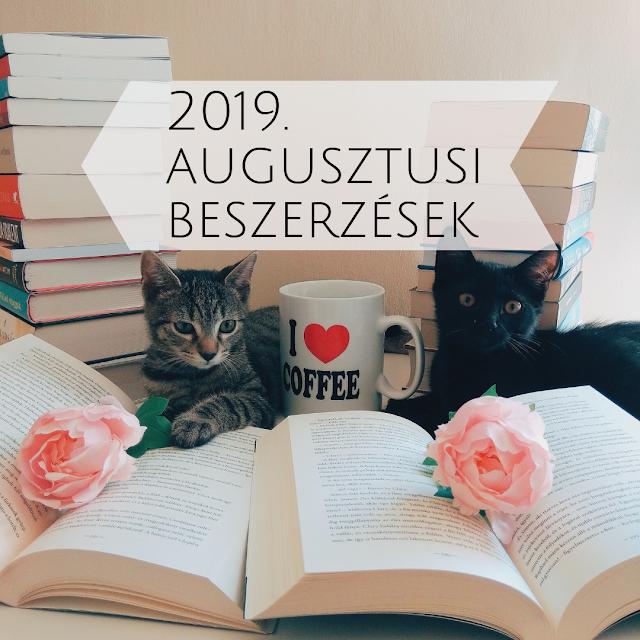 2019. júliusi beszerzések a teklakonyvei / Tekla Könyvei blogon, book haul könyves haul