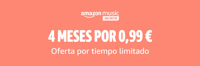 Amazon Music Unlimited 4 meses