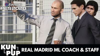 PES 2020 Kunpup Real Madrid ML RePack