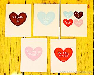 free printable valentines cards