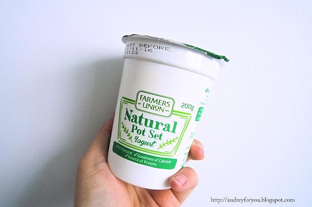 Life With Audrey Farmer's Union Natural Pot Set Yogurt