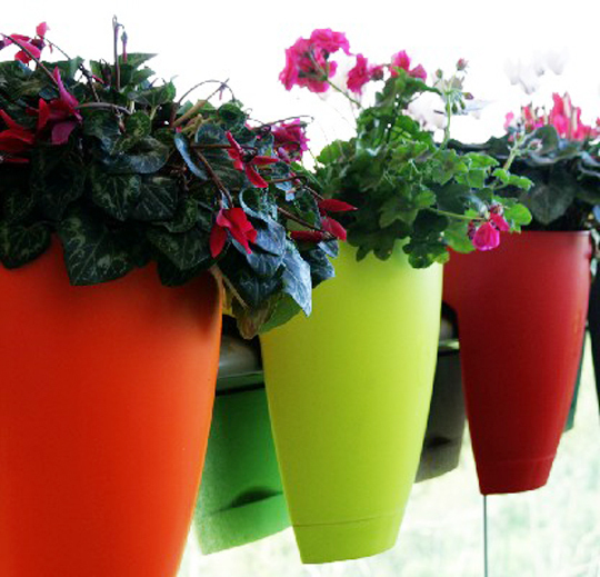 room to grow: Gimmick of the Day: GreenBo Planters Railing Planters Home Depot on brick planters home depot, patio planters home depot, trellis planters home depot, plant pots home depot, vertical garden home depot, post planters home depot, window planters home depot,