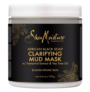 shea moisture african black soap mask, face mask for acne