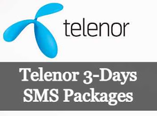 Telenor 3-Days SMS Packages