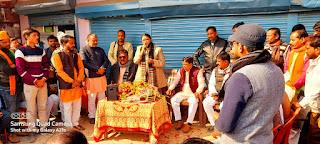 बीजेपी कार्यकर्ताओं द्वारा सांसद रेखा वर्मा का गोण्डा जाते समय मसौली में किया गया भव्य स्वागत