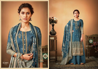 Sargam Print Glory Pashmina Suits Collection