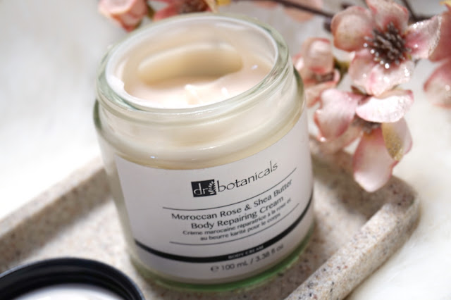 Moroccan Rose and Shea Butter Body Repairing Cream
