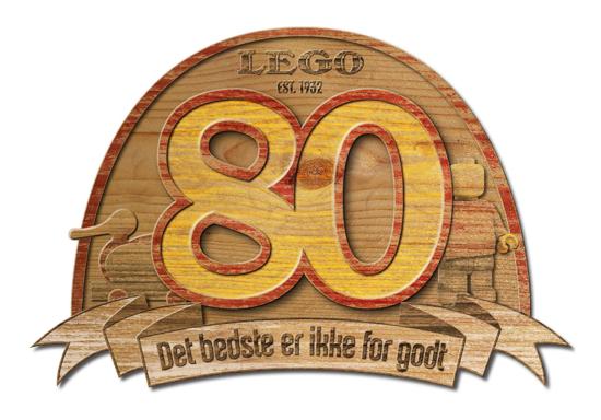 LEGO 80th anniversary