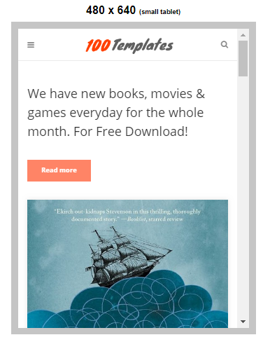 uBook Blogger Templates Free Download