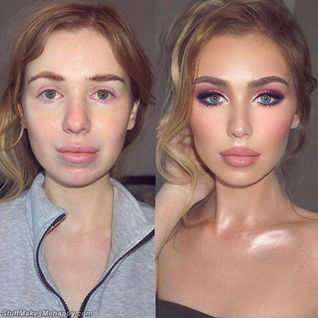 25 Awesome Images That Show the Power of Makeup