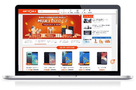 Giao diện blog bán hàng Điện thoại đẹp chuẩn SEO