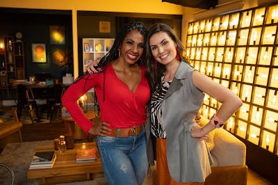 Thaise Miranda e Nathalia Arcuri. Crédito: Ricardo Carvalheiro / Endemol Shine Brasil