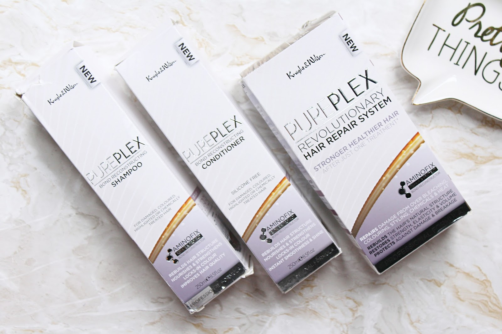 Knight & Wilson PurePlex Revolutionary Hair Repair System