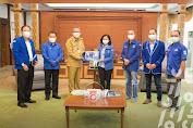 Gubernur Kalbar Terima Kunjungan Pengurus DPD Partai Demokrat Kalbar
