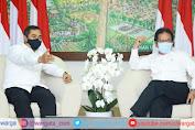 Silaturahmi ke Menteri ATR/BPN, Kabareskrim Polri Tegaskan Komitmen Berantas Mafia Tanah