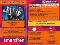 Walk In Interview di Smartfren Sidoarjo dan Pasuruan Oktober 2019