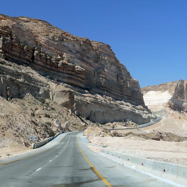 Berge, Bergstrasse, Oman, Strasse, hoch