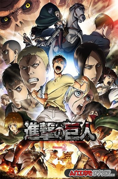 Shingeki no Kyojin Season 2 (12/12) [Castellano/Ingles/Japones] [BDrip 1080p]
