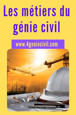 Le métier du génie civil