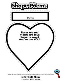 technology rocks. seriously.: Heart Writing Fun