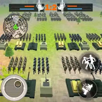 World War 3: Militia Battles Rts   (Mod Apk Unlock In-App Purchase)