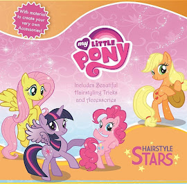 MLP Hairstyle Stars Book Media
